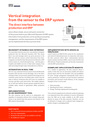 Vertical integration from sensor to ERP system